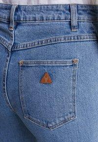 Abrand Jeans - A STREET ALINE - Flared Jeans - blue denim - 5