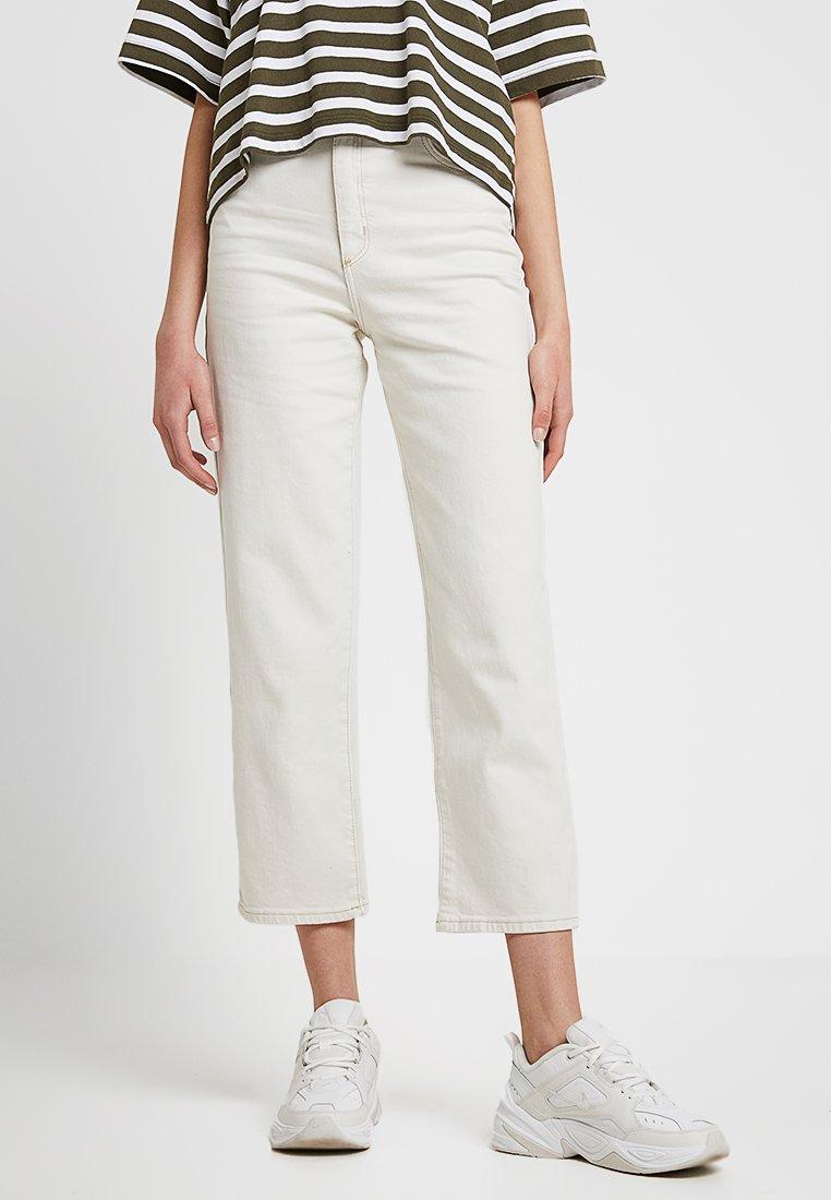 Abrand Jeans - A VENICE  - Straight leg jeans - white denim
