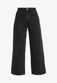 Abrand Jeans - STREET ALINE - Flared Jeans - graphite - 4