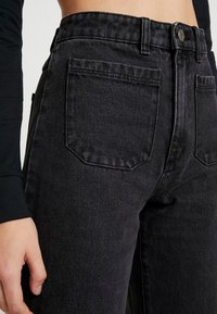 Abrand Jeans - STREET ALINE - Flared Jeans - graphite - 3
