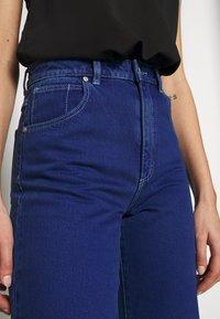 Abrand Jeans - STREET ALINE - Džíny Straight Fit - techno blue - 3