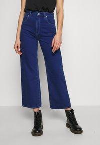 Abrand Jeans - STREET ALINE - Džíny Straight Fit - techno blue - 0