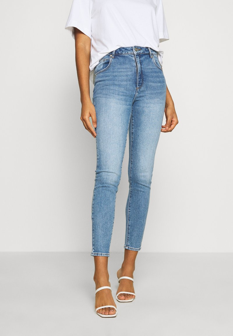 Abrand Jeans - ANKLE BASHER - Jeans Skinny Fit - union blue
