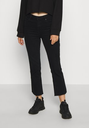 HIGH CROPPED BOOT - Flared Jeans - deadnight