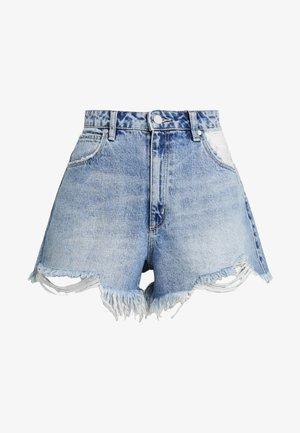 VENICE - Denim shorts - blue denim