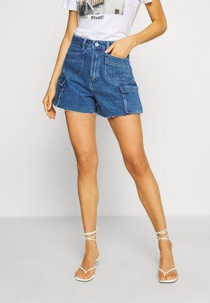 VENICE - Jeans Short / cowboy shorts - blue denim
