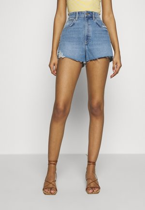 HIGH RELAXED - Shorts di jeans - miss jane