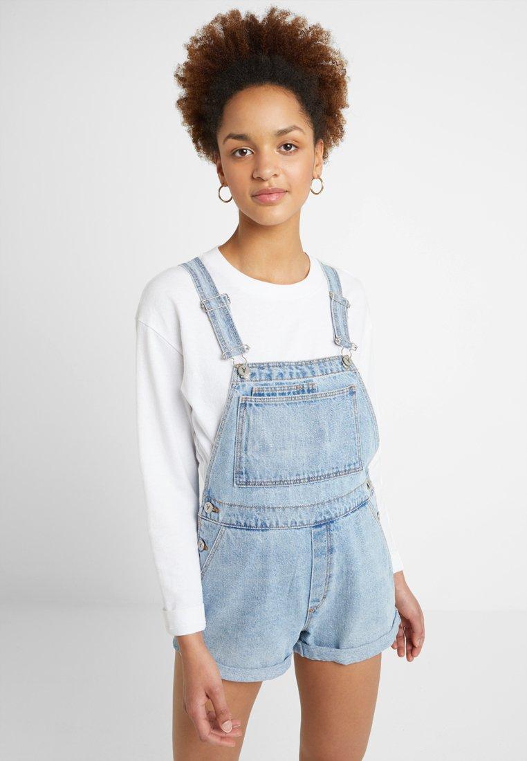 Abrand A Jeans Denim Wynona OverallSalopette Blue g76Ybyfv