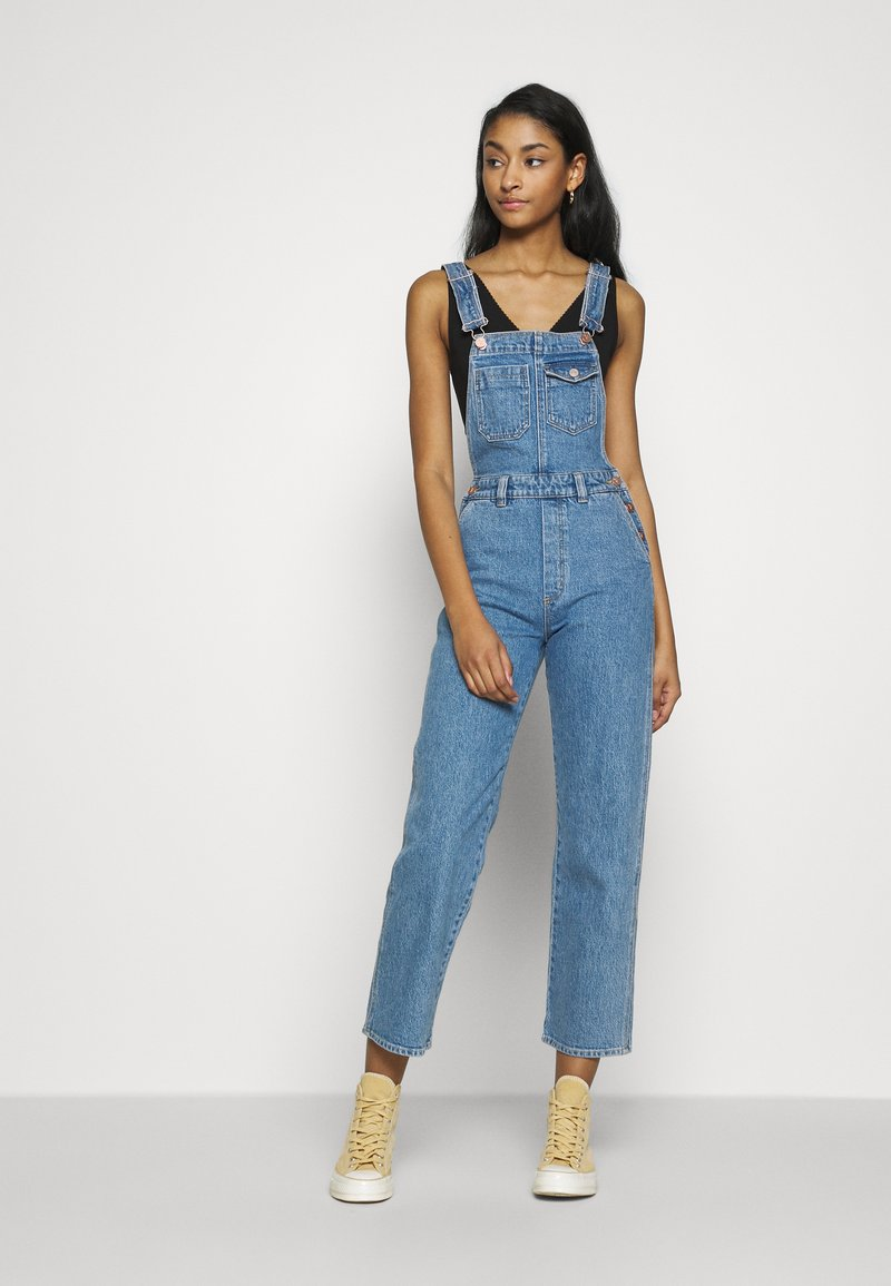 Abrand Jeans - VENICE STRIGHT OVERALL - Tuinbroek - feel it