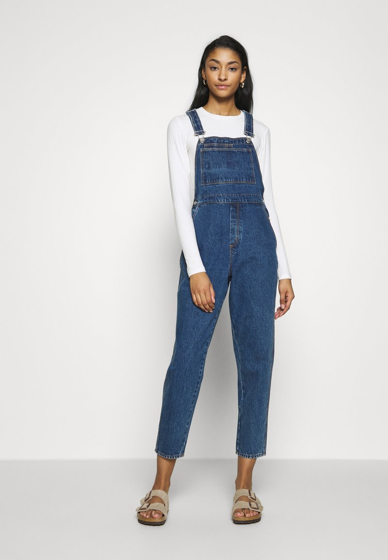 Abrand Jeans - A VERONICA OVERALL - Tuinbroek - electra