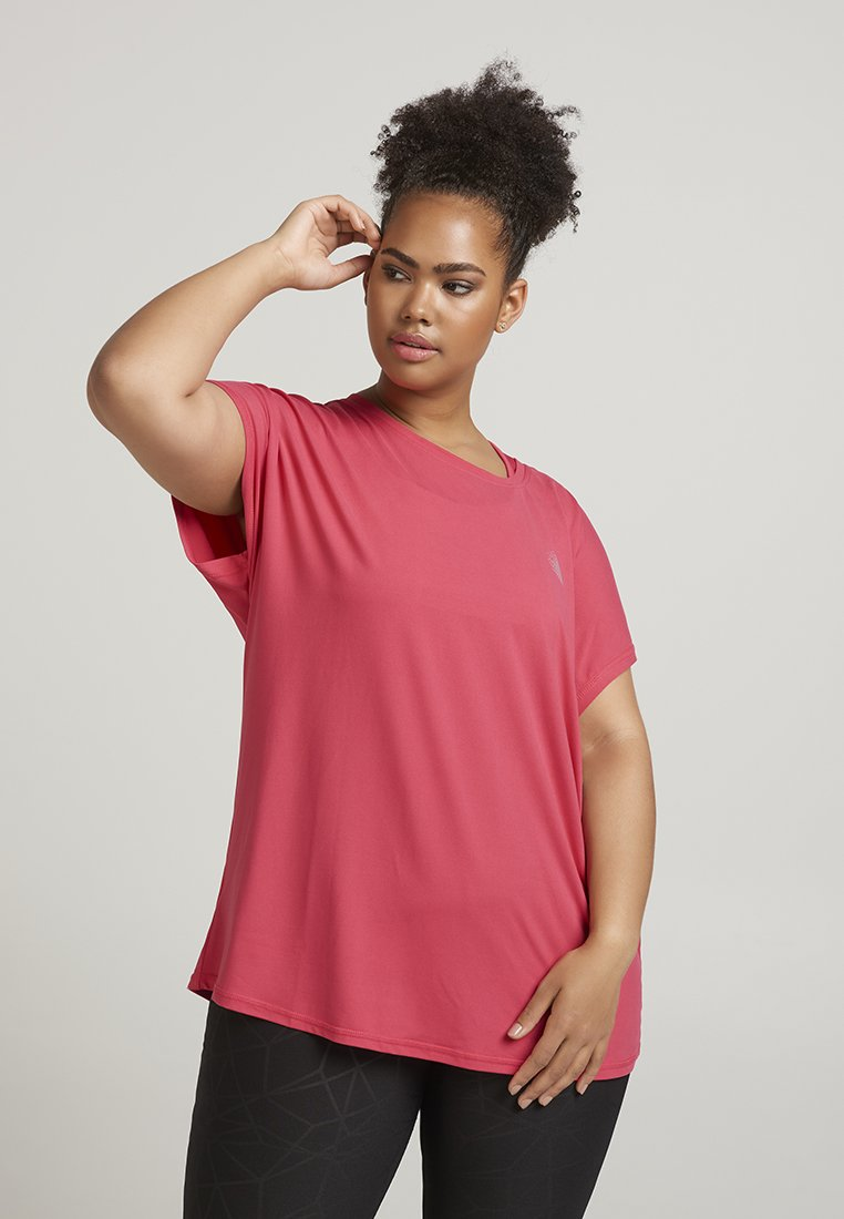 Active by Zizzi - T-Shirt print - pink