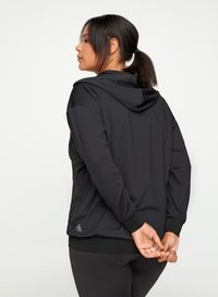 Active by Zizzi - Zip-up hoodie - black - 2