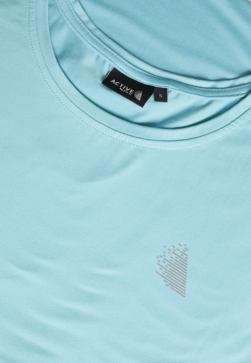 Active by Zizzi ABASIC ONE - T-shirts - porcelain