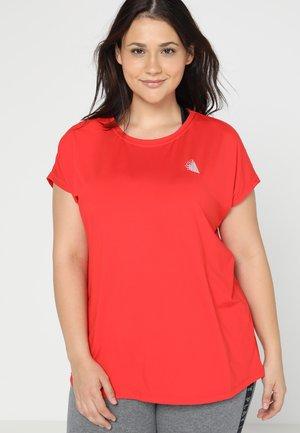 ABASIC ONE - Basic T-shirt - flame scarlet