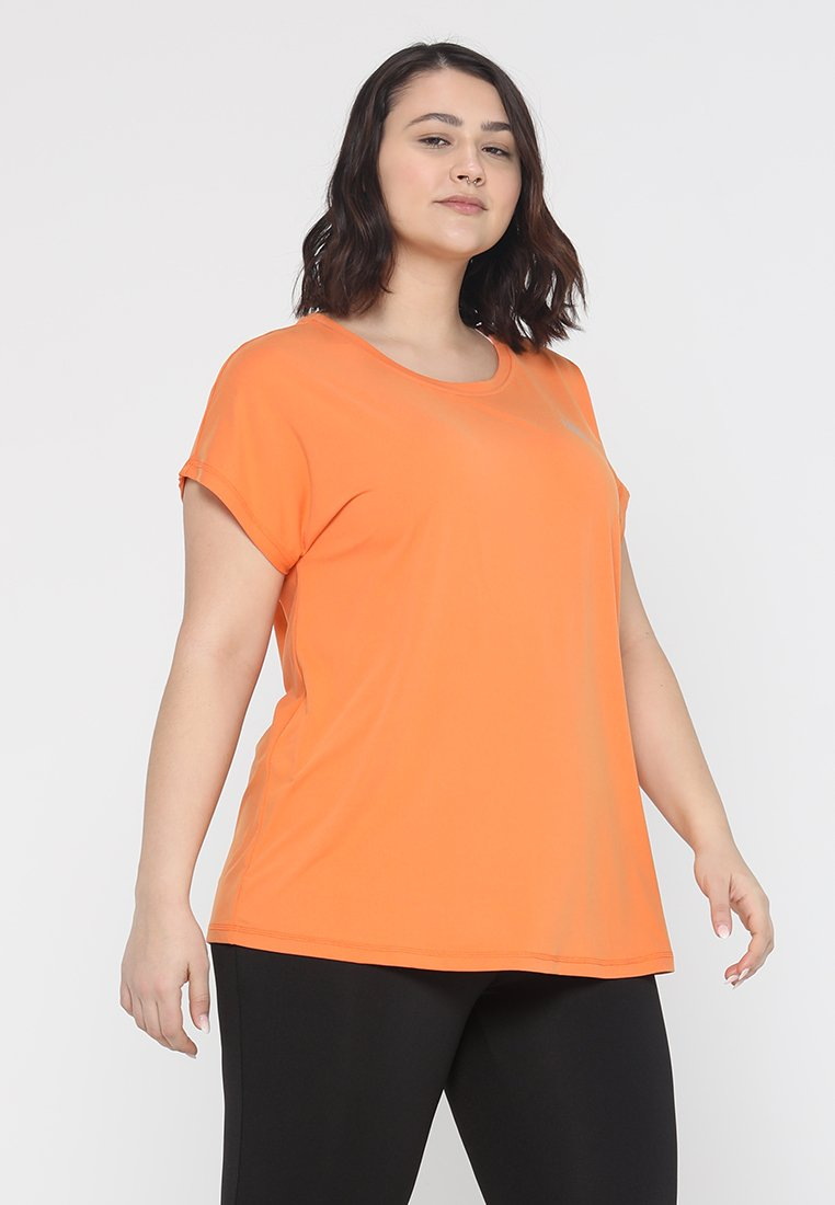 Active by Zizzi - ABASIC ONE - T-shirt basic - bird of paradise