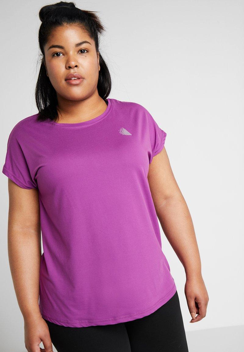 Active by Zizzi - ABASIC ONE - T-shirt basique - sparkling grape