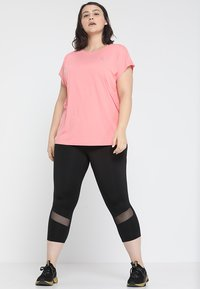 Active by Zizzi - ABASIC ONE - T-shirts basic - pink icing - 1