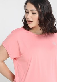 Active by Zizzi - ABASIC ONE - T-shirts basic - pink icing - 3