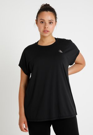 ABASIC ONE - T-shirts - black
