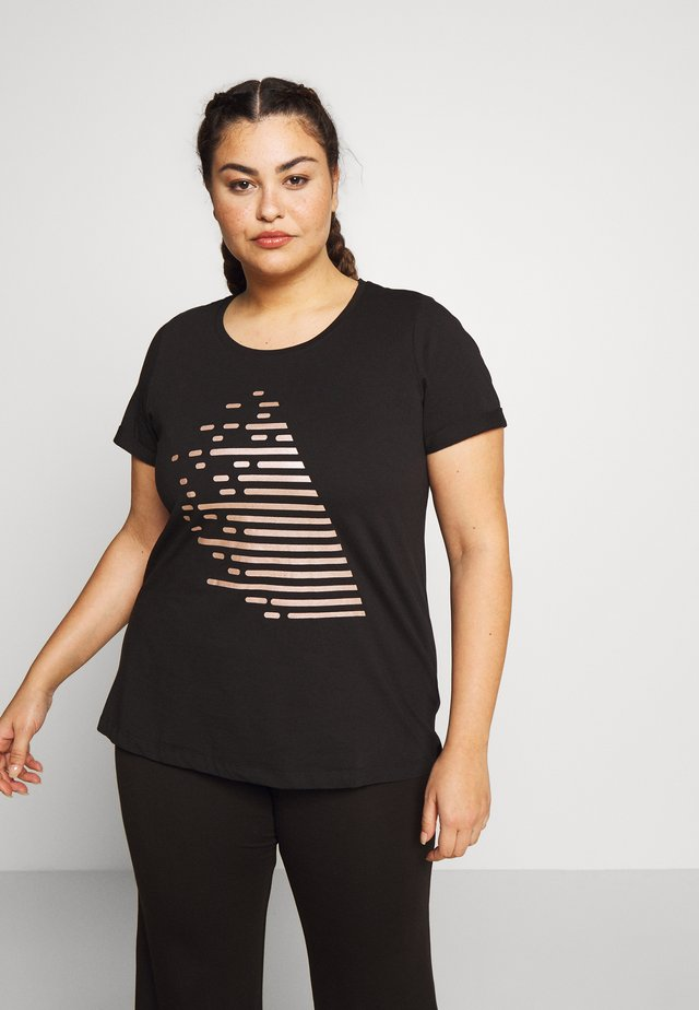 ALOGO - T-shirt con stampa - rose gold