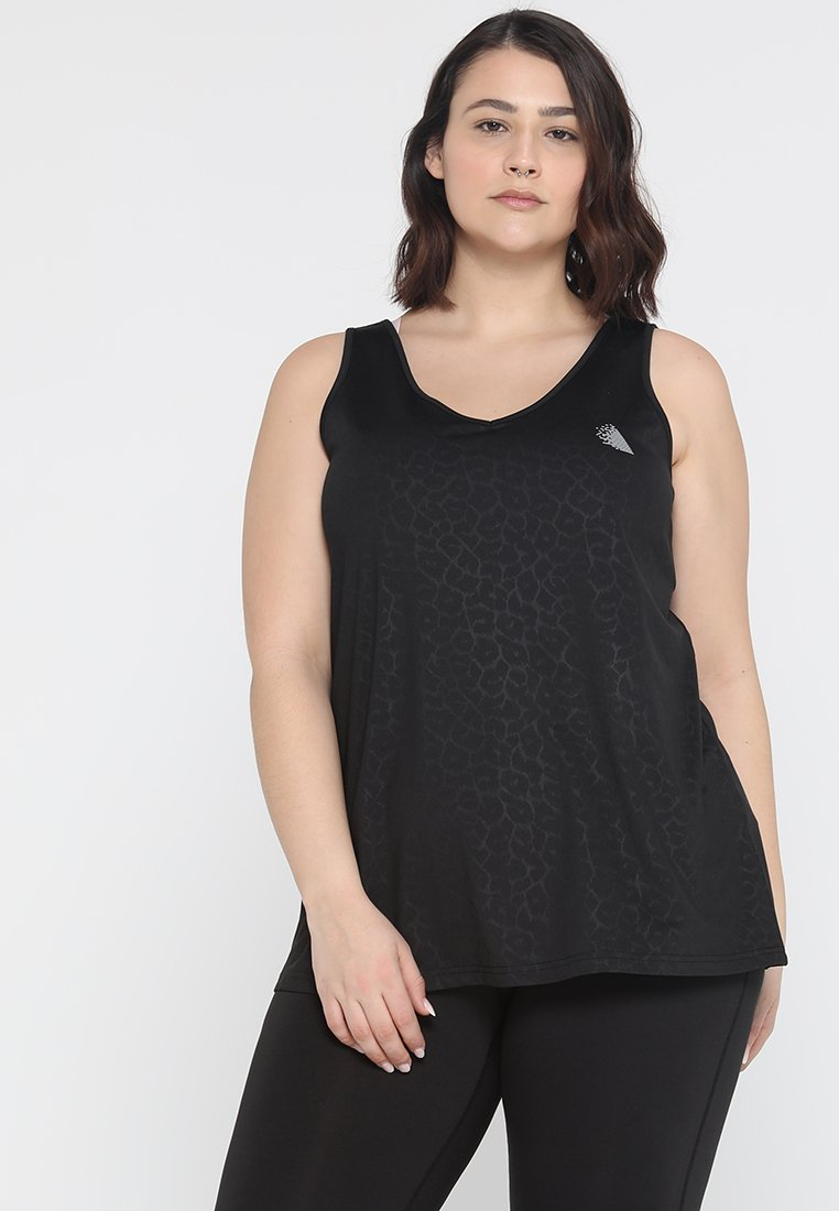 Active by Zizzi - ABLACK LEO - Top - black
