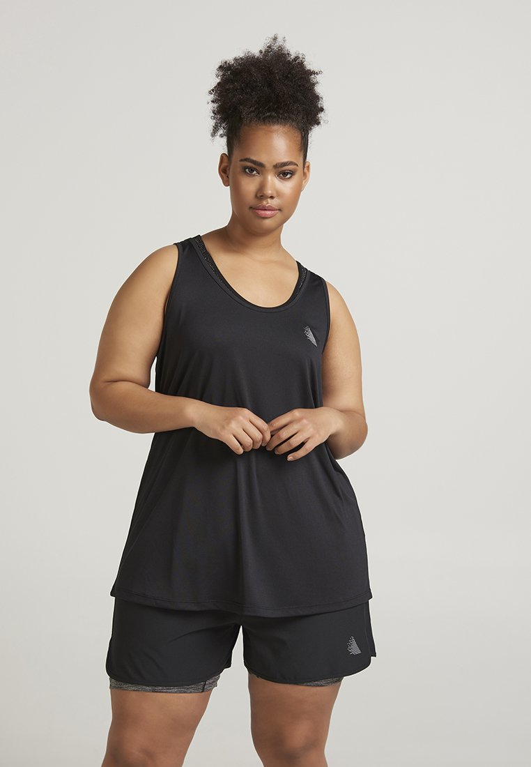 Active by Zizzi - ADAWN STRING - Toppe - black