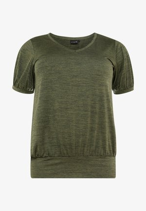 ASAN FRAN - T-shirt basic - ivy green