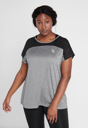 ALACY - T-shirt print - grey melange