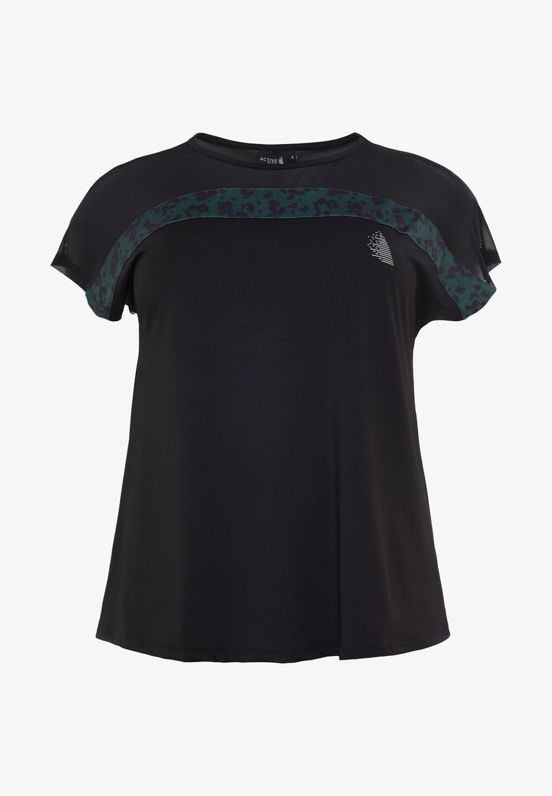 Active by Zizzi - ALYNN - T-shirt print - kombu green