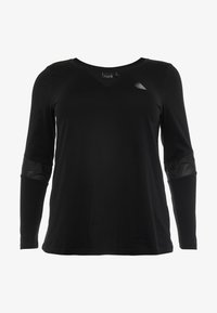Active by Zizzi - ASUSY - Sports shirt - black - 0