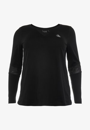 ASUSY - Funktionsshirt - black