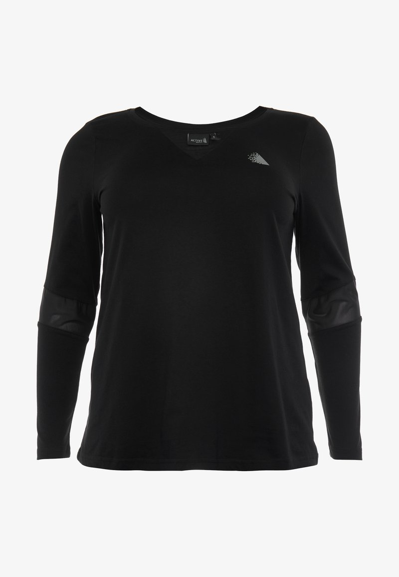 Active by Zizzi - ASUSY - Sports shirt - black