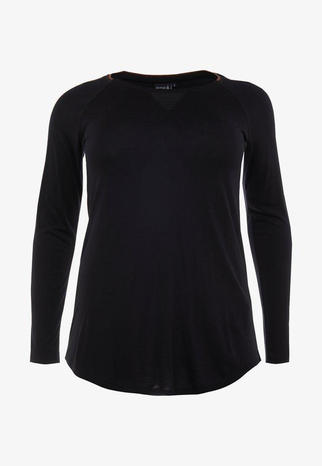 ALEILANI - Pitkähihainen paita - black