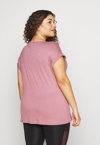 Active by Zizzi - ANEWYORK - T-shirt print - wistful mauve - 2