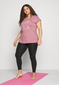 Active by Zizzi - ANEWYORK - T-shirt print - wistful mauve - 1