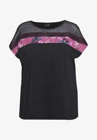 Active by Zizzi - WISTFULL TOP - Camiseta estampada - wistful mauve
