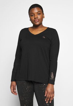 ASISU  - T-shirt sportiva - black