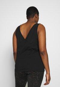 Active by Zizzi - ASISU - T-shirt sportiva - black - 2