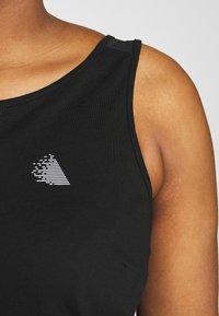 Active by Zizzi - ASISU - T-shirt sportiva - black - 4