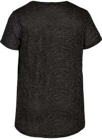 Active by Zizzi - AMEERA - T-shirts med print - black - 5