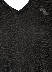 Active by Zizzi - AMEERA - T-shirts med print - black - 4
