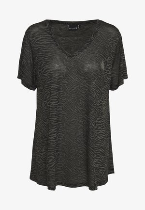 AMEERA - T-shirt con stampa - black
