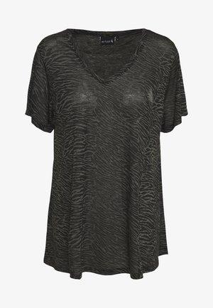 AMEERA - T-shirt imprimé - black