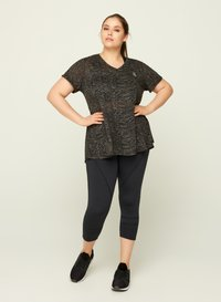 Active by Zizzi - AMEERA - T-shirts med print - black - 1