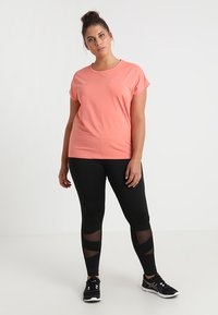 Active by Zizzi - ABAGUIO - Collant - black - 1