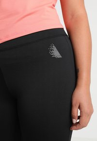 Active by Zizzi - ABAGUIO - Tights - black - 4