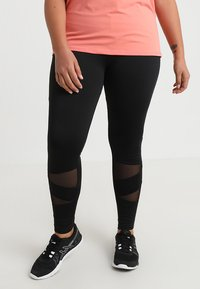 Active by Zizzi - ABAGUIO - Collant - black - 0