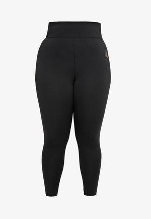 BASIC ANCLE PANT - Collant - black