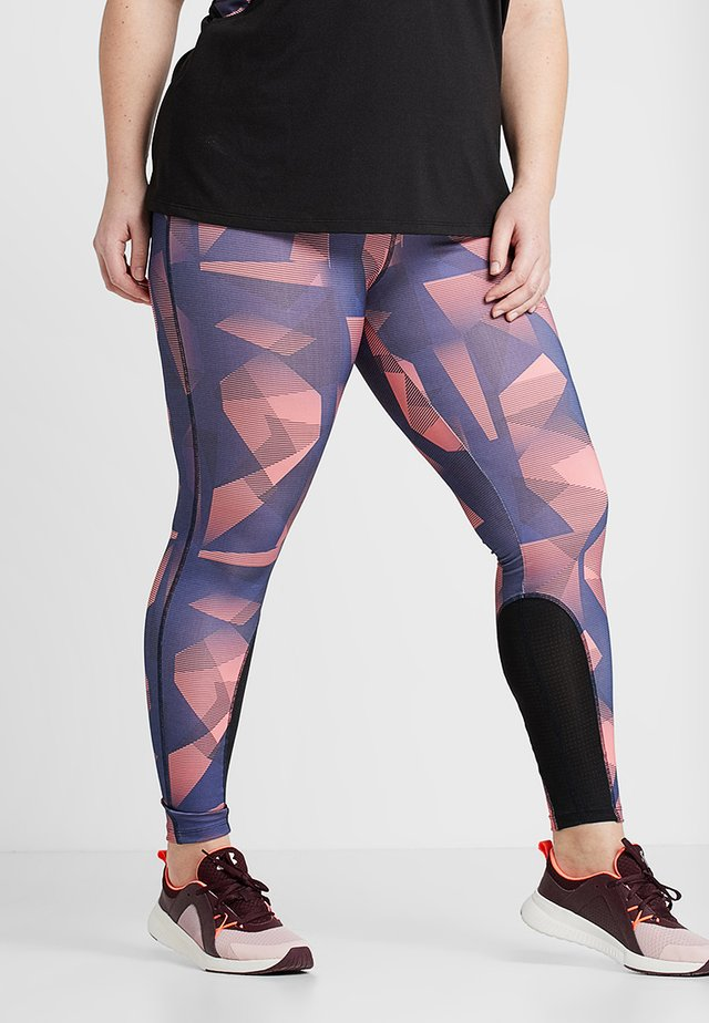AWATERLILLY ANCLE PANT - Legging - coral
