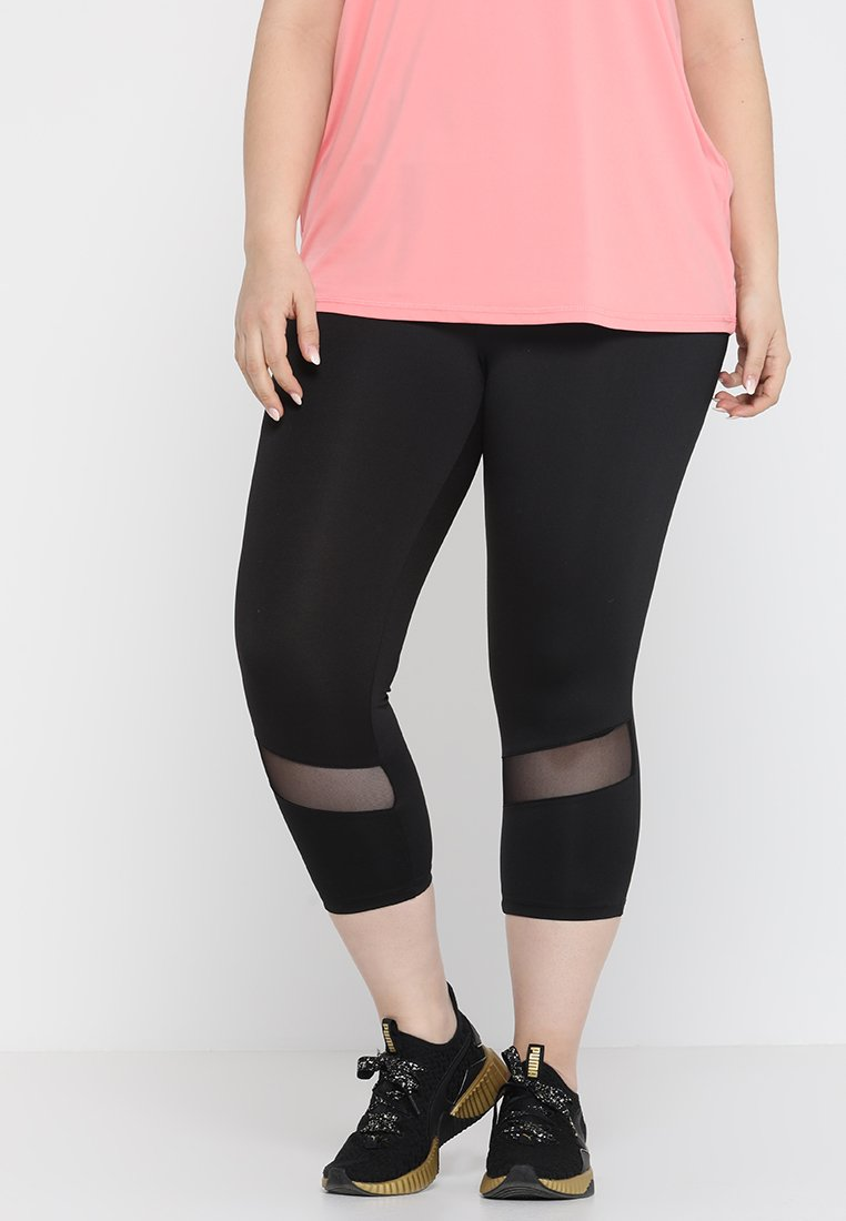 Active by Zizzi - ABELARUS KNICKERS - Leggings - black